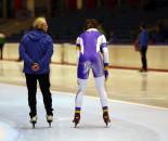 Marathon Ice skating team